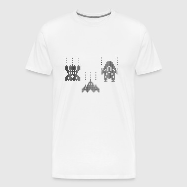 video game - Mannen Premium T-shirt
