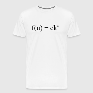 mathematical insult - Men's Premium T-Shirt