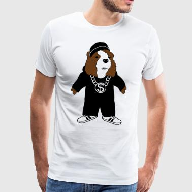 Hip Hop guinea pig music guinea pig comic - Men's Premium T-Shirt