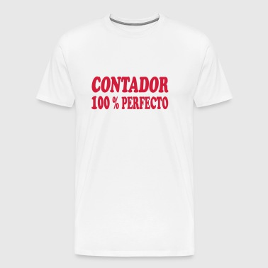 Contador 100 % perfecto - Men's Premium T-Shirt