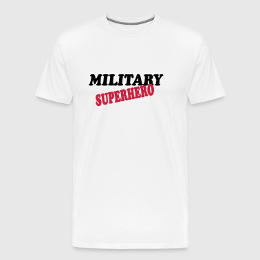 Military superhero - Men's Premium T-Shirt