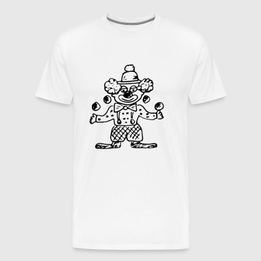 clown - Men's Premium T-Shirt