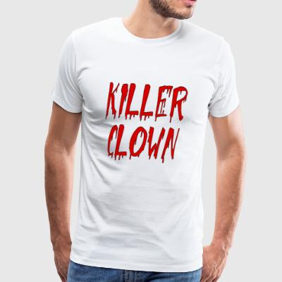 clown tueur - T-shirt Premium Homme