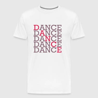Dancing with two colors - Men's Premium T-Shirt