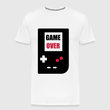game over : Retro Gaming console - Camiseta premium hombre