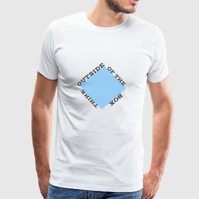 Outside of the Box - Männer Premium T-Shirt