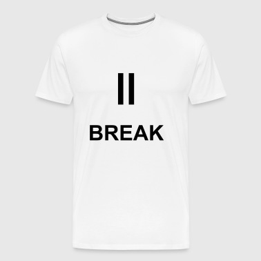 Break Symbol - Männer Premium T-Shirt