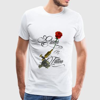 Guns n Tattoo - T-shirt Premium Homme