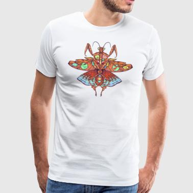 Red Mantis - Mannen Premium T-shirt