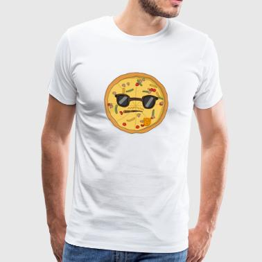 Detective Pizza - Premium T-skjorte for menn