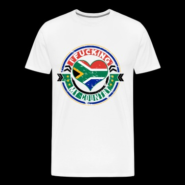 South Africa love for the most beautiful country - Men's Premium T-Shirt