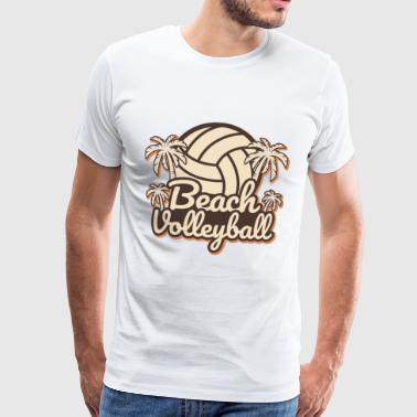 Beachvolleybal - Mannen Premium T-shirt
