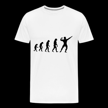 Evolution Bodybuilder Idée Cadeau Fitness - T-shirt Premium Homme