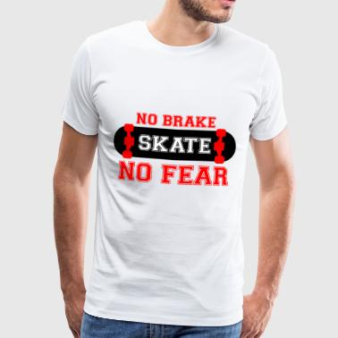 tshirt-NO BRAKE - Men's Premium T-Shirt
