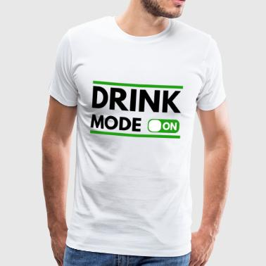 Drink to St Patrick's Day - Men's Premium T-Shirt