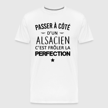 Perfection / Alsacien - T-shirt Premium Homme