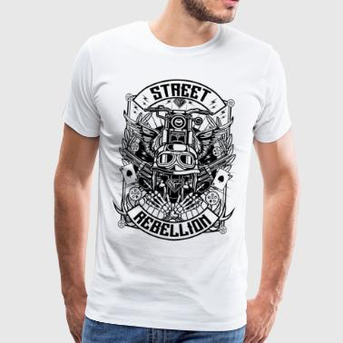 Street Rebellion Motorcycle s - Men's Premium T-Shirt