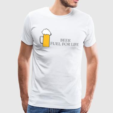BIER: Fuel for Life - Mannen Premium T-shirt