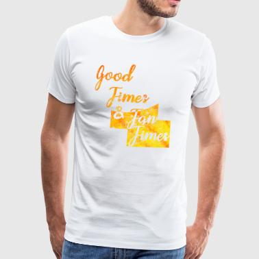 Good Times Sea Sun Summer Beach Malle Party - Camiseta premium hombre