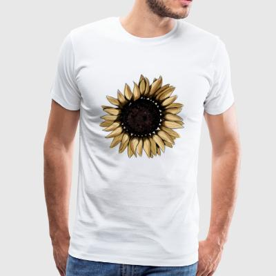 Sunflower byStray - Men's Premium T-Shirt
