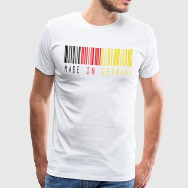 MADE IN GERMANY BARCODE - Men's Premium T-Shirt