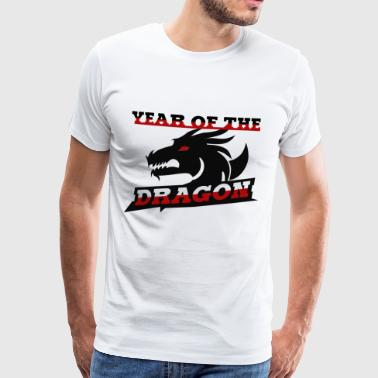 Year of the Dragon Chinese zodiac sign - Men's Premium T-Shirt