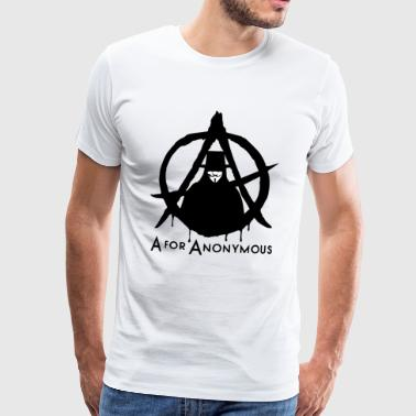 Anonymous - A are Anonymous - We are legion - Men's Premium T-Shirt