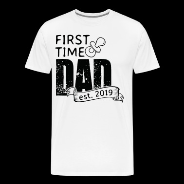 First Time Dad est. 2019 - Men's Premium T-Shirt
