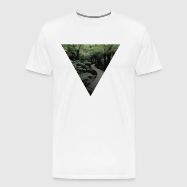 travel triangle - Men's Premium T-Shirt
