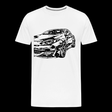 Megane 3 RS - Men's Premium T-Shirt