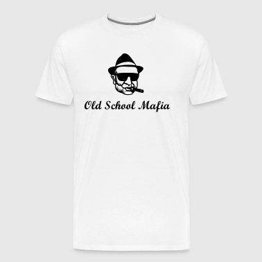 Old School Mafia - Men's Premium T-Shirt