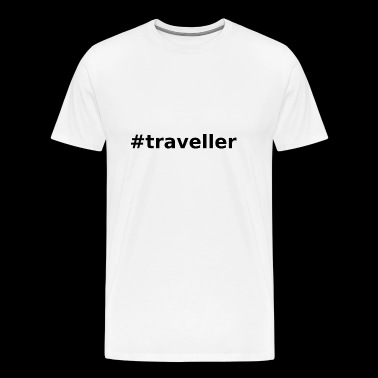 #traveller vacationers - gift idea - Men's Premium T-Shirt