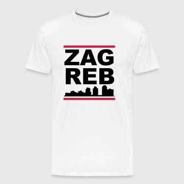 Zagreb - Men's Premium T-Shirt