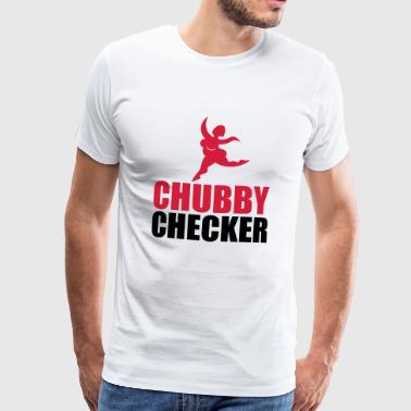 Chubby Checker - Premium T-skjorte for menn