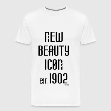 New beauty Icon est. 1902, Pixellamb ™ - Männer Premium T-Shirt