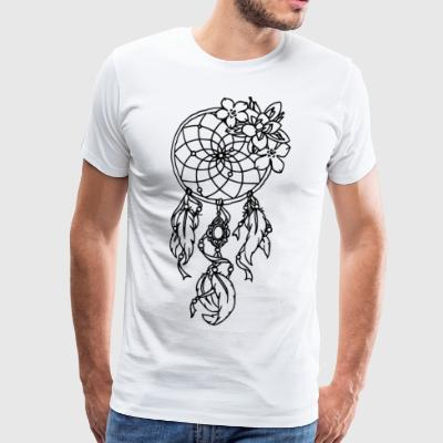 dream catcher - Herre premium T-shirt