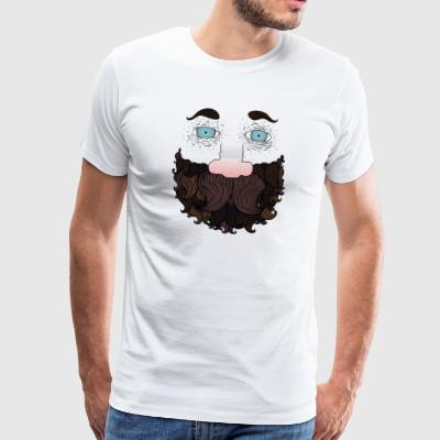 Beard guy - Men's Premium T-Shirt