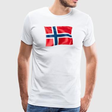 Flag of Norway - Men's Premium T-Shirt