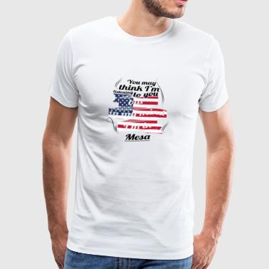 THERAPY HOLIDAY AMERICA USA TRAVEL Mesa - Men's Premium T-Shirt