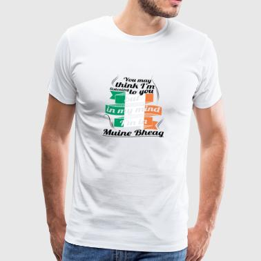 HOLIDAYS Ireland ROOTS TRAVEL IN IN Muine Bh - Men's Premium T-Shirt