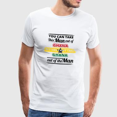Gift from dear origin man GHANA - Men's Premium T-Shirt