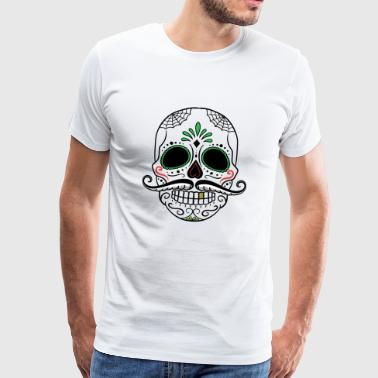 day of the dead skull - Männer Premium T-Shirt