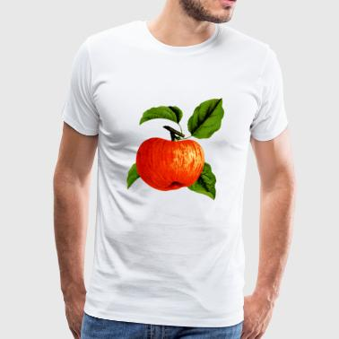 Apple Apple Veggie Fruit Fruits Tree Tree3 - Men's Premium T-Shirt