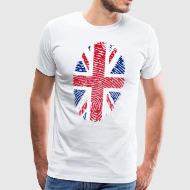 ENGLAND 4 EVER COLLECTION - Herre premium T-shirt
