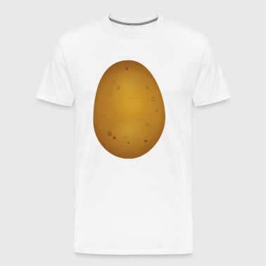 kartoffel tuber vegetable004 - Herre premium T-shirt