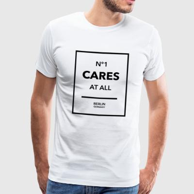 N°1 Cares at all - Männer Premium T-Shirt