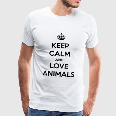 Animals / Animals / Zoo / Gift - Men's Premium T-Shirt