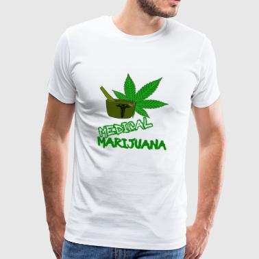 Marijuana Medical Marijuana Gras Weed Doctor - Men's Premium T-Shirt