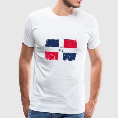 homeland fight ak 47 homeland roots Dominican R - Men's Premium T-Shirt