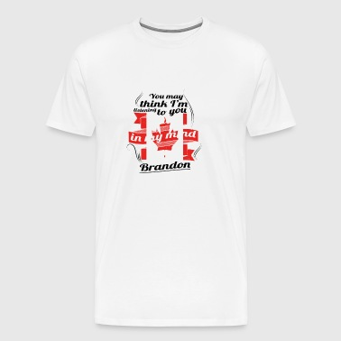 URLAUB HOME ROOTS TRAVEL Kanada Canada Brandon - Männer Premium T-Shirt